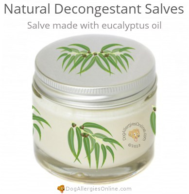 Natural Decongestant Salves